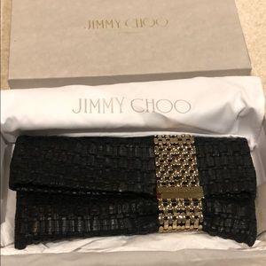 Jimmy choo leather bag